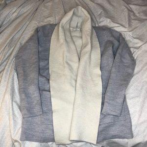 Babaton Grey Cardigan